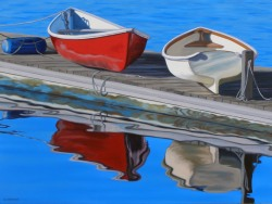 Boats on a Float   30x40