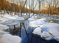 Clear Day at Frog Pond 30x40