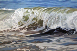 Cold Water Wave 24x36