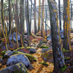 Frog Pond Woods   36x36