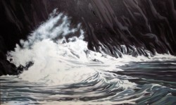 Great White Wave   36x60
