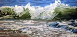 Green Wave   24x48