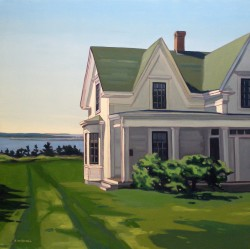 House at Sand Beach   30x30